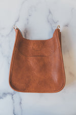 Mini Messenger without Strap in Camel