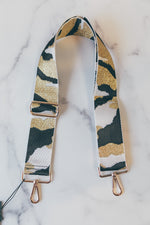 Adjustable Bag Strap - White/Gold Camo