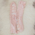 Joy Slipper Socks in Pink