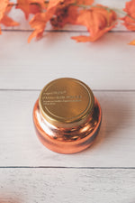 8 oz Pumpkin Dolce Glittered Ombre Candle