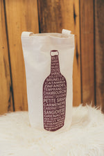 MAPTOTE Red Wine Tote
