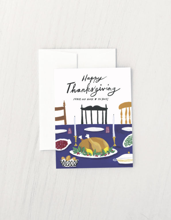 Idlewild Co. Thanksgiving Table Card