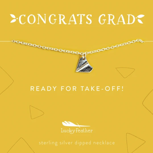 Grad Necklace - Ready For Take-Off