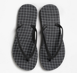 WAVEGRID Flip Flops in Black