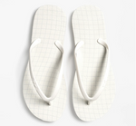 WAVEGRID Flip Flops in Whisper White