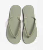 CLASSIC Flip Flops in Olive Green