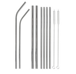This Is The Last Straw Stainless Steel Straw Set