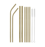 Sippity Doo Dah Stainless Steel Straw Set