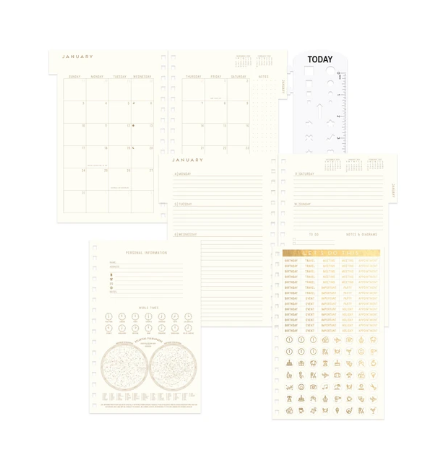 Yearly Vintage 2021 Planner