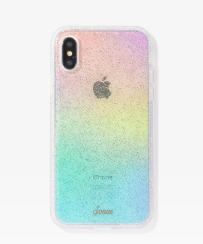 Sonix Rainbow Glitter iPhone Case XS Max