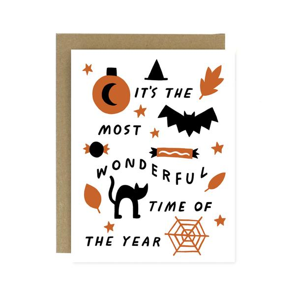 Worthwhile Paper Wonderful Halloween Card