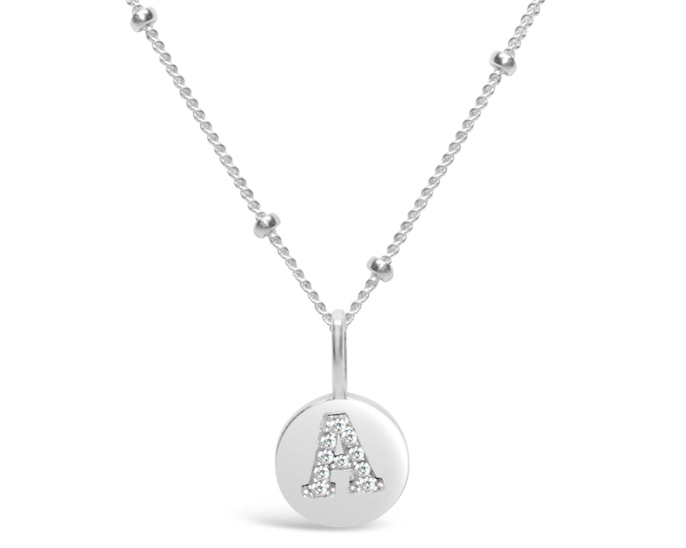 Love Letter Pavé Necklace