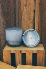 Medium Mojave Glass Candle in Citrus Crush