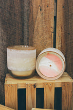 Medium Mojave Glass Candle in Coconut Milk Mango