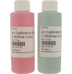 pH Calibration Solutions (Set of 2)