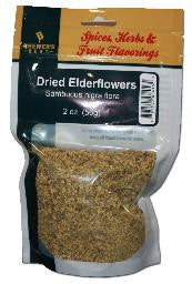 Dried Elderflowers - 2oz.