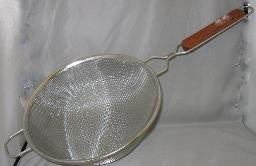 Stainless Double Mesh Strainer 10""