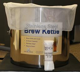 "Nylon Straining Bag - Brew in a Bag - 24"" x 26"""