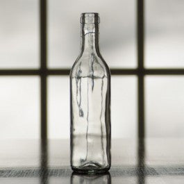 Clear Semi-Bordeaux Bottles 375ml (12/case)