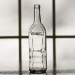 Clear Bordeaux Wine Bottles 750ml