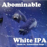 Abominable White IPA