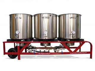The Alpha Ruby 1 Barrel Brewing System