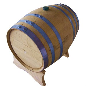 Whiskey Barrel w/ Stand - 5 Gal.