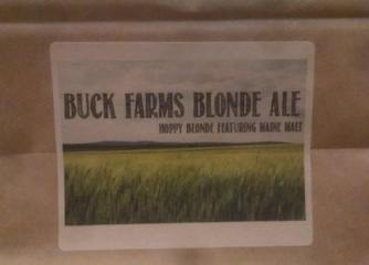 Buck Farms Blonde Ale