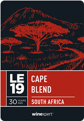 LE19 Cape Blend - South Africa **Limited Edition**