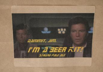 Dammit, Jim. I'm a Beer Kit! Strong Pale Ale
