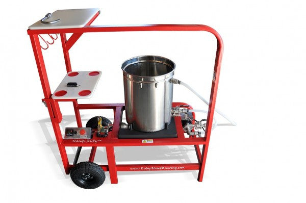 The Handi-Ruby 11 Gallon Brewing System