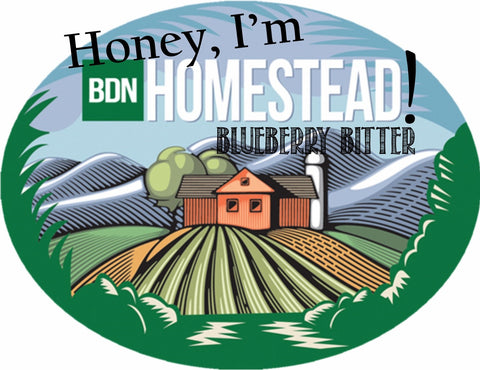 Honey, I'm Homestead! Blueberry Bitter