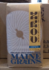Maine Grains Organic Yellow Flint Cornmeal - 2.4lbs.