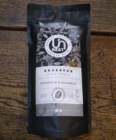 UnRest Roasters Coffee Endeavor Dark Roast - Whole Bean - 12oz.