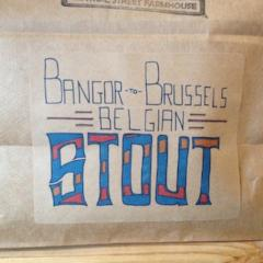 Bangor-to-Brussels Belgian Stout