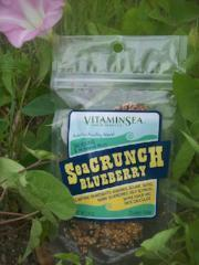SeaCrunch Blueberry Kelp Snack