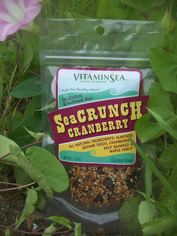 SeaCrunch Cranberry Kelp Snack