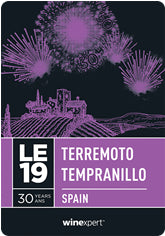LE19 Terremoto Tempranillo - Spain **Limited Edition**
