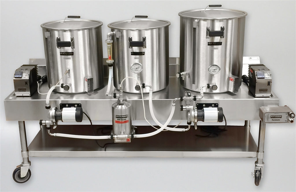 Electric Turnkey Horizontal Brew System