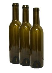 Antique Green Semi-Bordeaux Bottles 375ml
