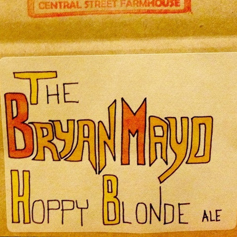 The Bryan Mayo Hoppy Blonde Ale