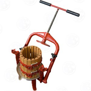 Crossbeam Fruit Press w/ Wooden Basket