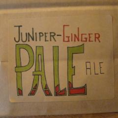 Juniper-Ginger Pale Ale