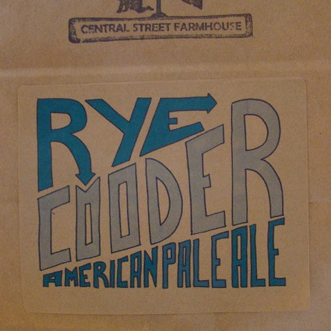 Rye Cooder American Pale Ale