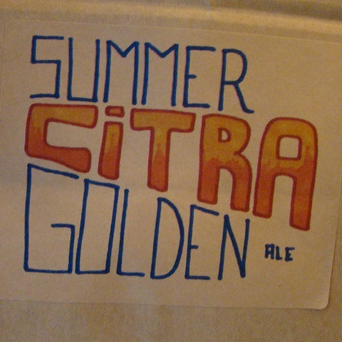 Summer Citra Golden Ale