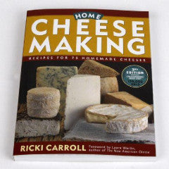 Home Cheese Making - Ricki Carroll