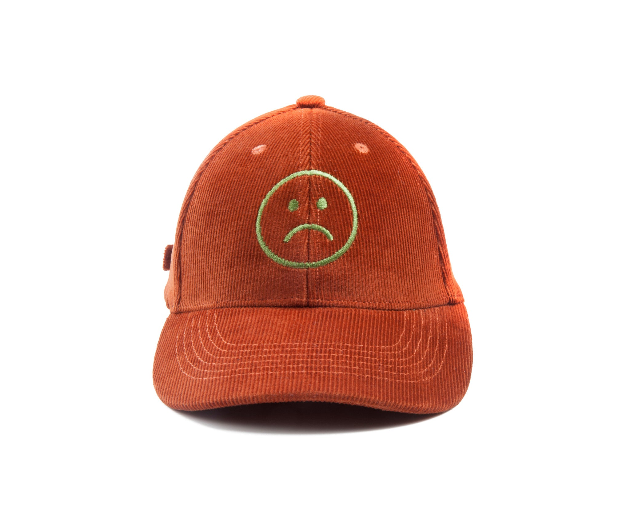 Corduroy 6-panel Baseball Cap - Phoenix Copper