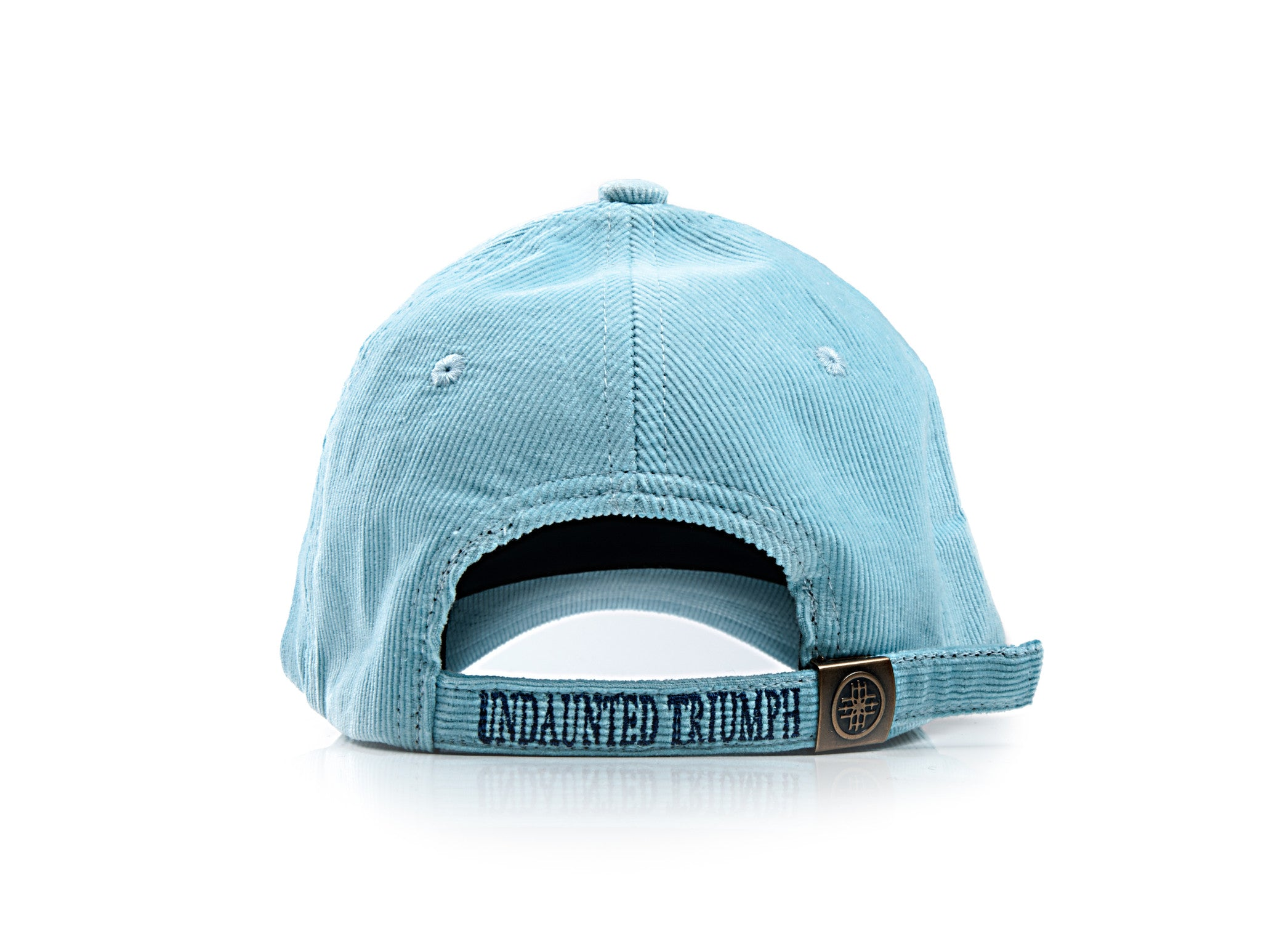 Corduroy 6-panel Baseball Cap - Sky Blue