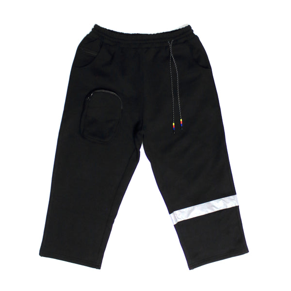 "Undaunted Triumph Sweatpants  ""Hood Star""  - Black"