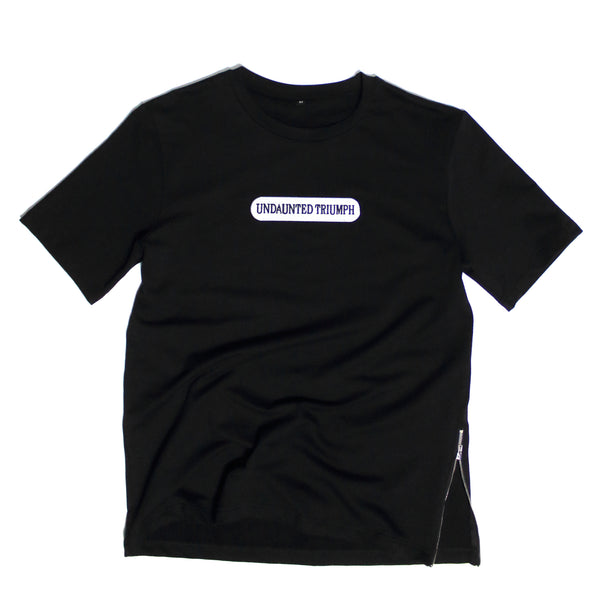 "Undaunted Triumph T-Shirt  ""Hood Star""  - Black"